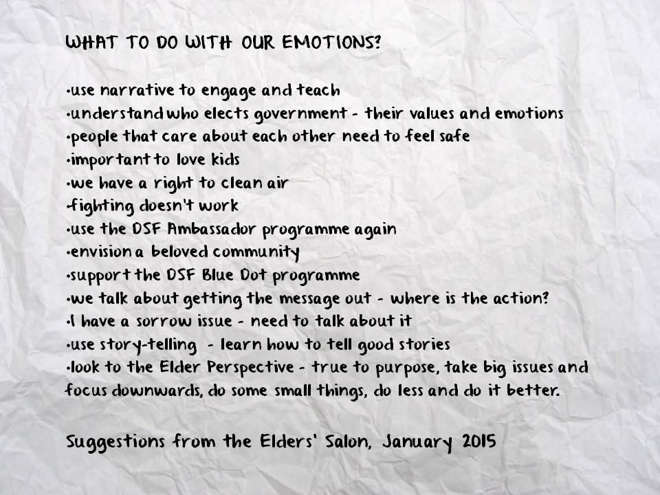 What to do with emotions